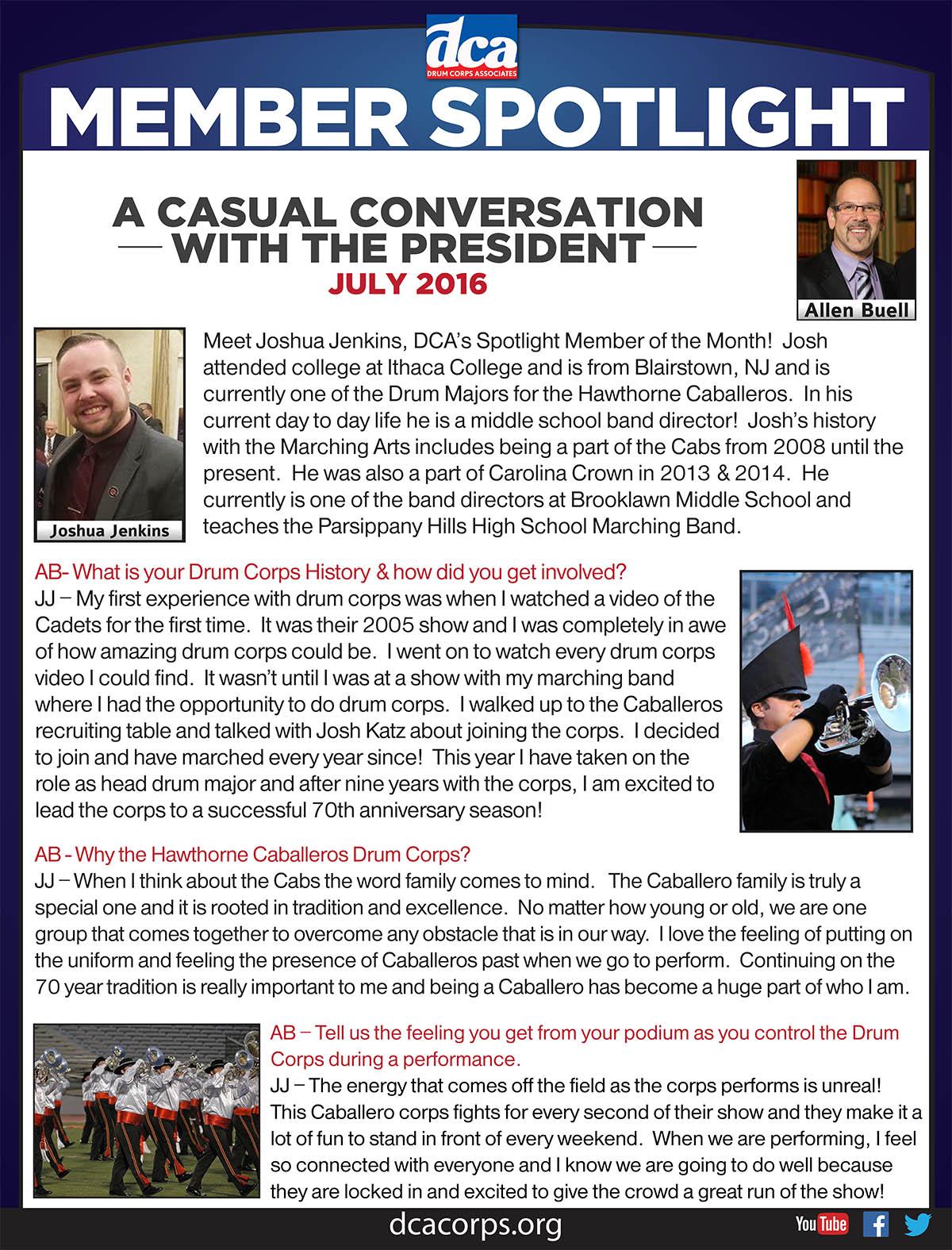 DCA_PresidentsNewsletter_JoshuaJenkins